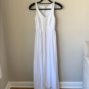 LC Lauren Conrad White Maxi Dress